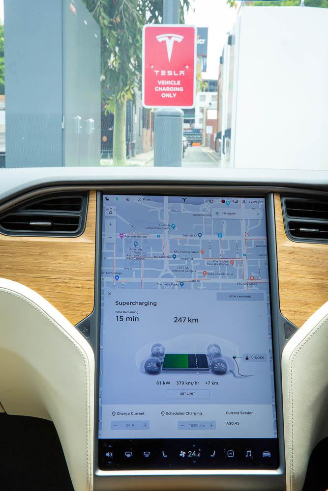 DC Fast Charging - Tesla