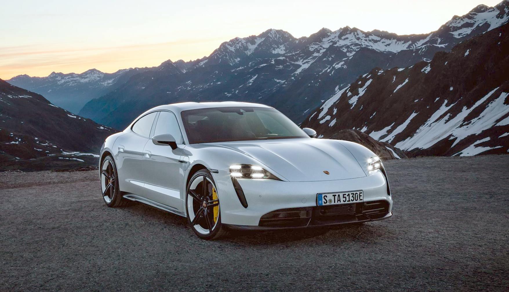 Porsche Taycan Press Image