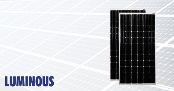 luminous mono solar panel