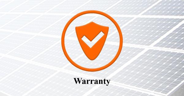 Enhanced Performance Warranty of solar panel
