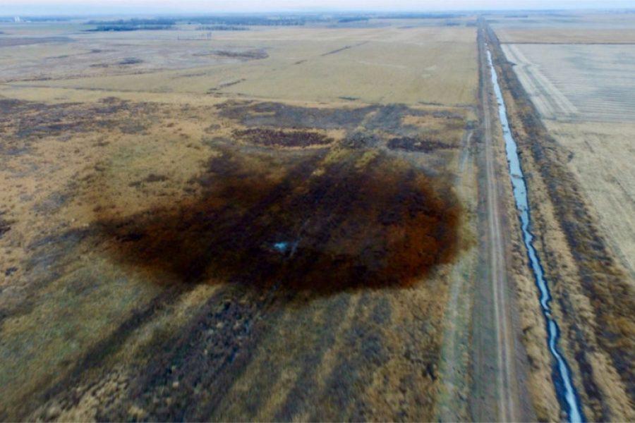 11/5/19 – Keystone XL Pipeline Spills Estimated 383,000 Gallons of Crude Oil in North Dakota Wetland