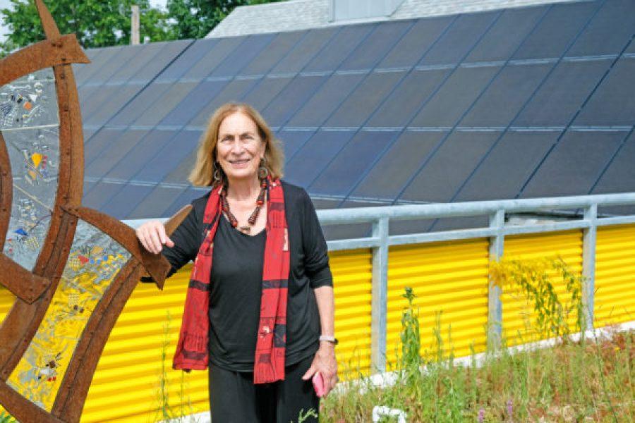 Art + Science – AVA Gallery Goes Net-Zero with Solar Power