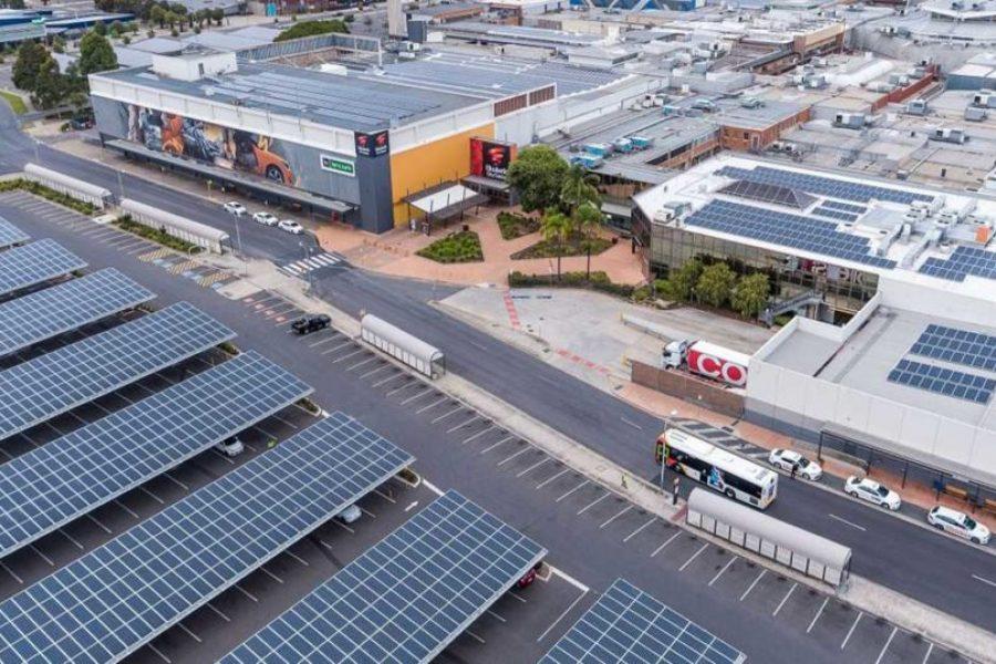 Australia's Largest Solar Car Park Installation Complete