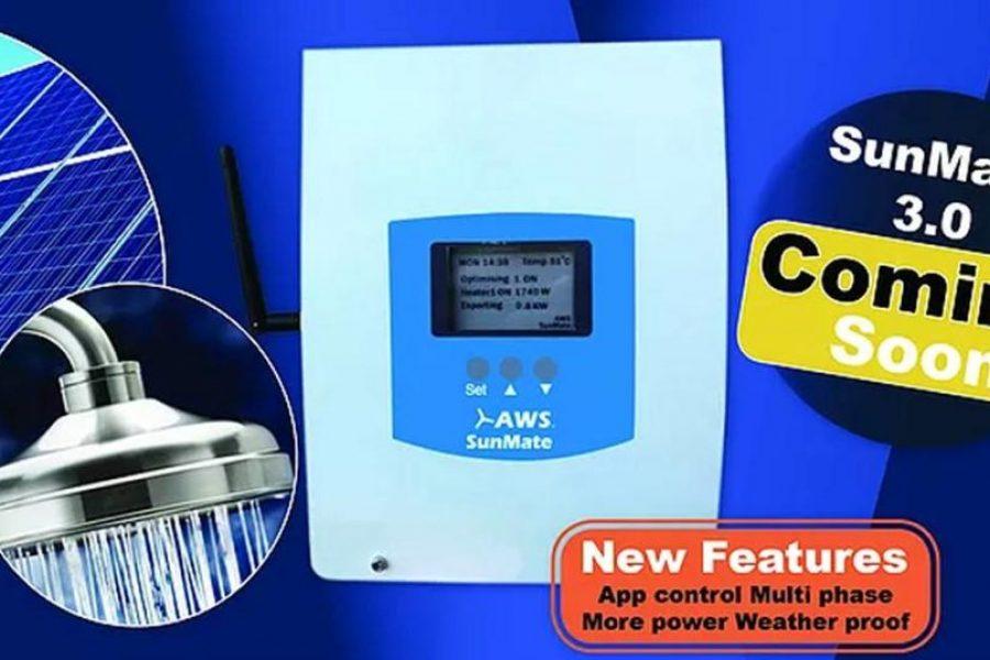 AWS Spruiking New SunMate Solar Diverter