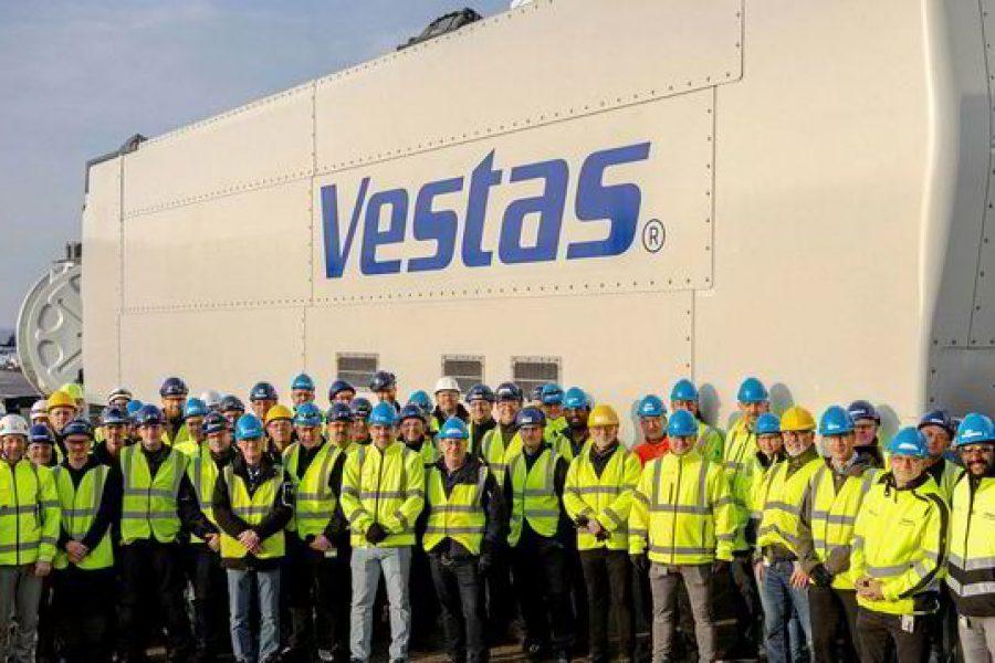 High five for Vestas as first EnVentus nacelle rolls off assembly line