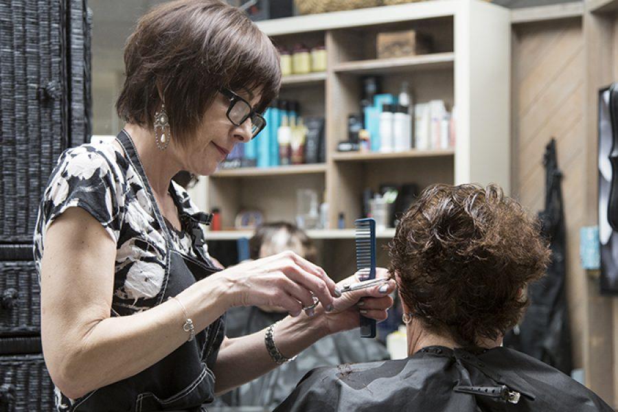 Lighting upgrades help Shears Ahead beauty salon shine