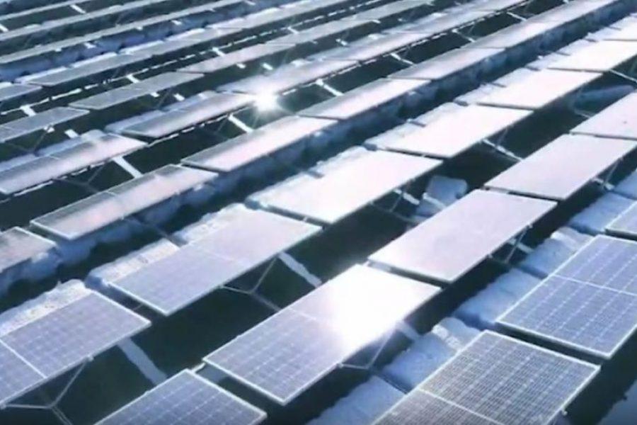 Longi Supplies Panels For Huge Floating Solar Farm