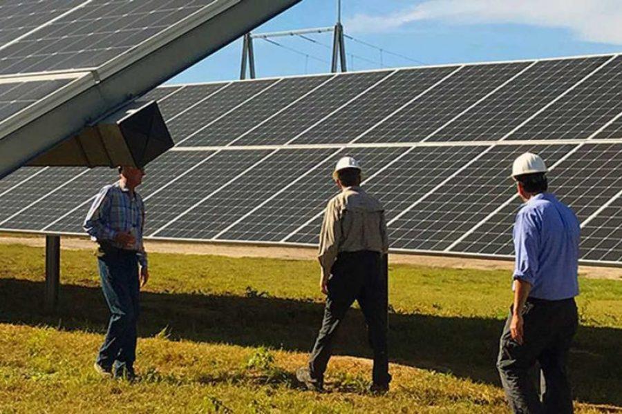 New Energy Solar Announces U.S. Solar Farm Completion