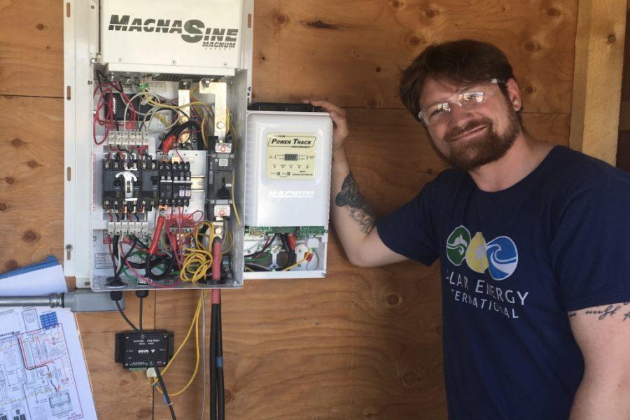 SEI Alumni in the Field: Commercial PV Installer for Namaste Solar