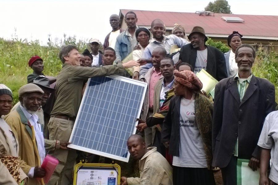 Shannon Fulton, ISEA President, Saving lives in Uganda Using Power from the sun