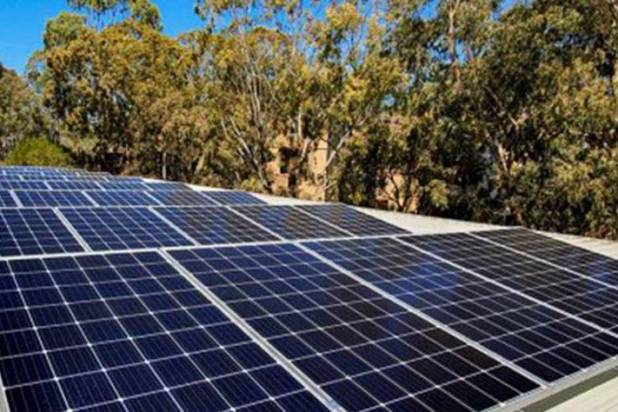 Solar Panel Installation At La Trobe University Library Commences