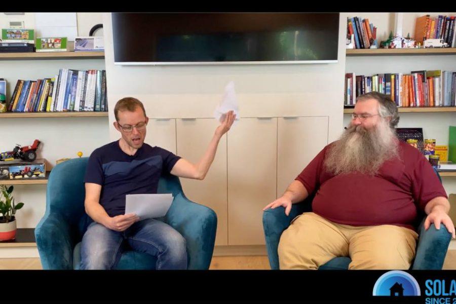 SolarQuotes Vodcast Episode 33 – Dynamic Solar Stuff