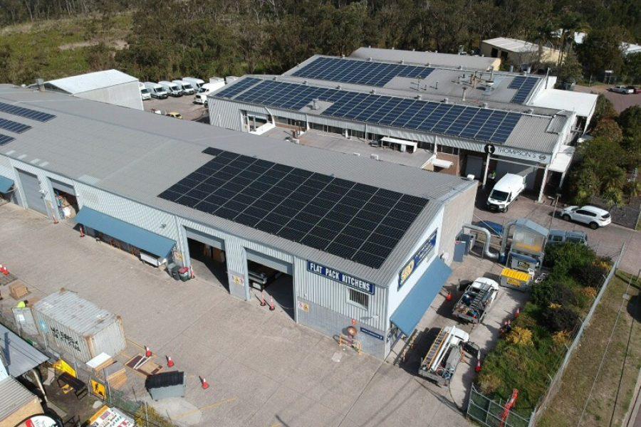 SRD Kitchens installs 30kW Solar PV