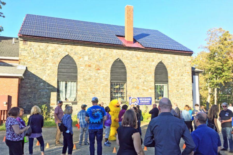 Stone Church Goes Solar – Seacoast Landmark Gets Sustainable for the Future