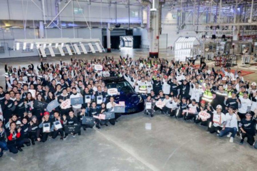 Tesla Says Shanghai Gigafactory Already Producing 1,000 Model 3s Per Week