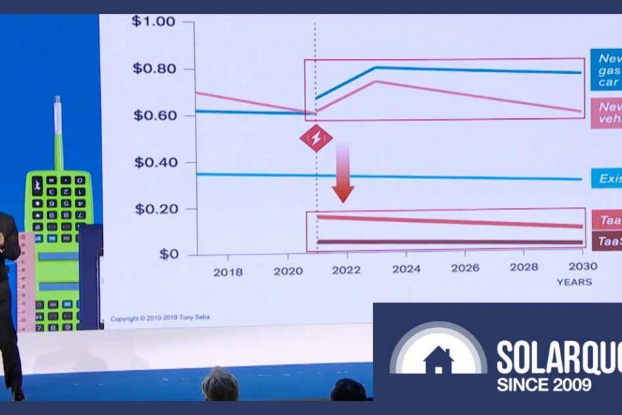 Tony Seba: Rise Of Autonomous EVs Is About To Change Everything