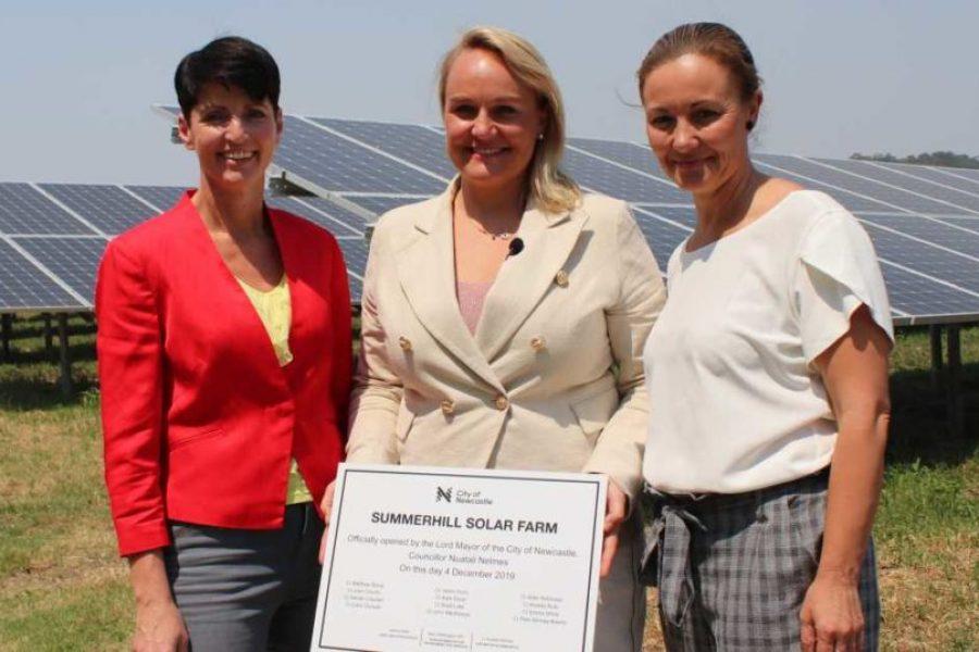 Trash To Treasure – Summerhill Solar Farm Operational