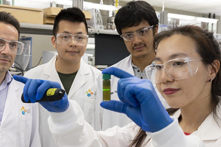 Tungsten disulfide helps organic solar cell reach 17% efficiency