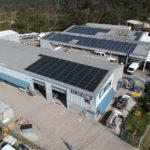 SRD Kitchens 30kW Solar