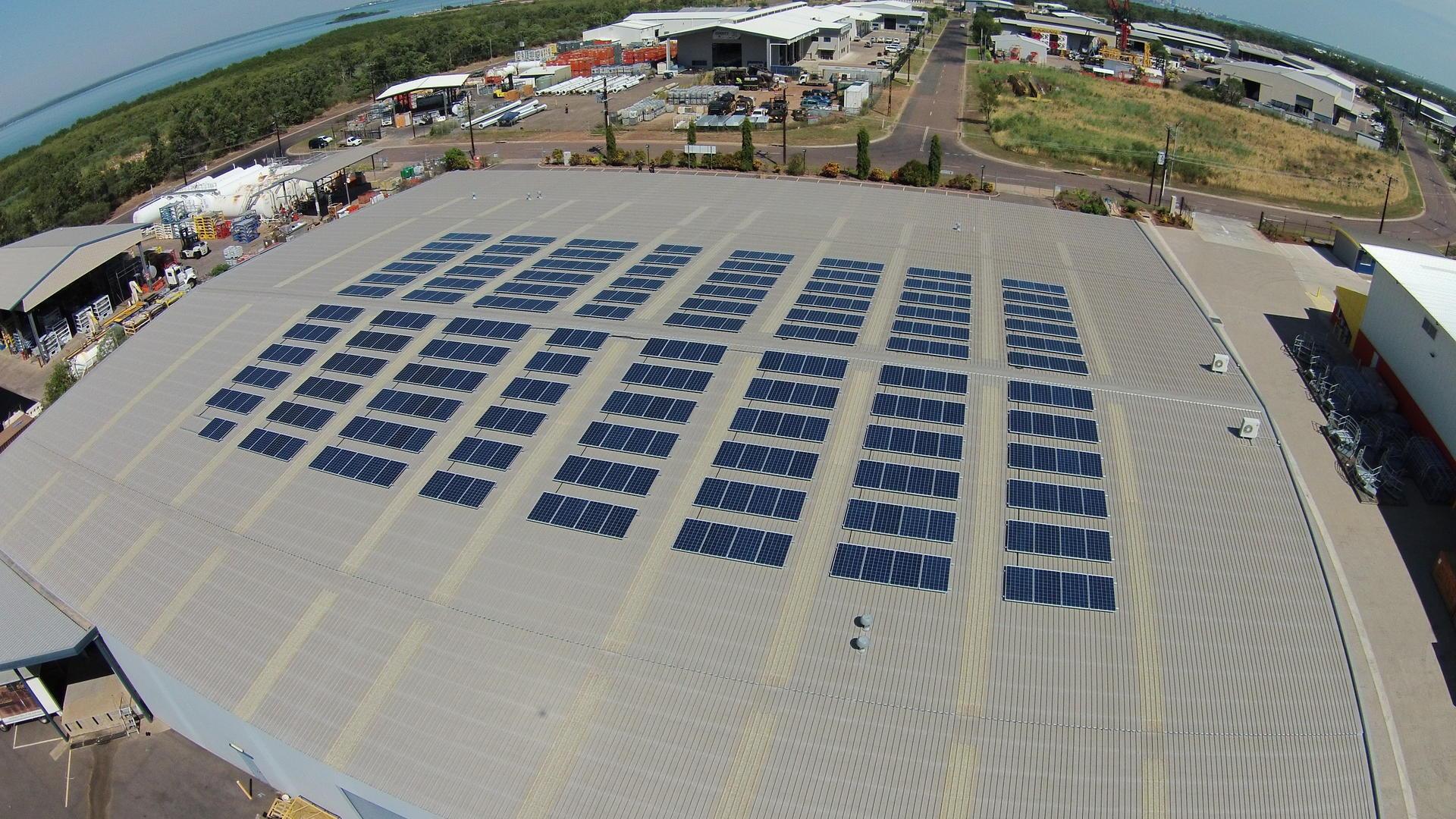 100kW Solar PV Slumber Care Darwin