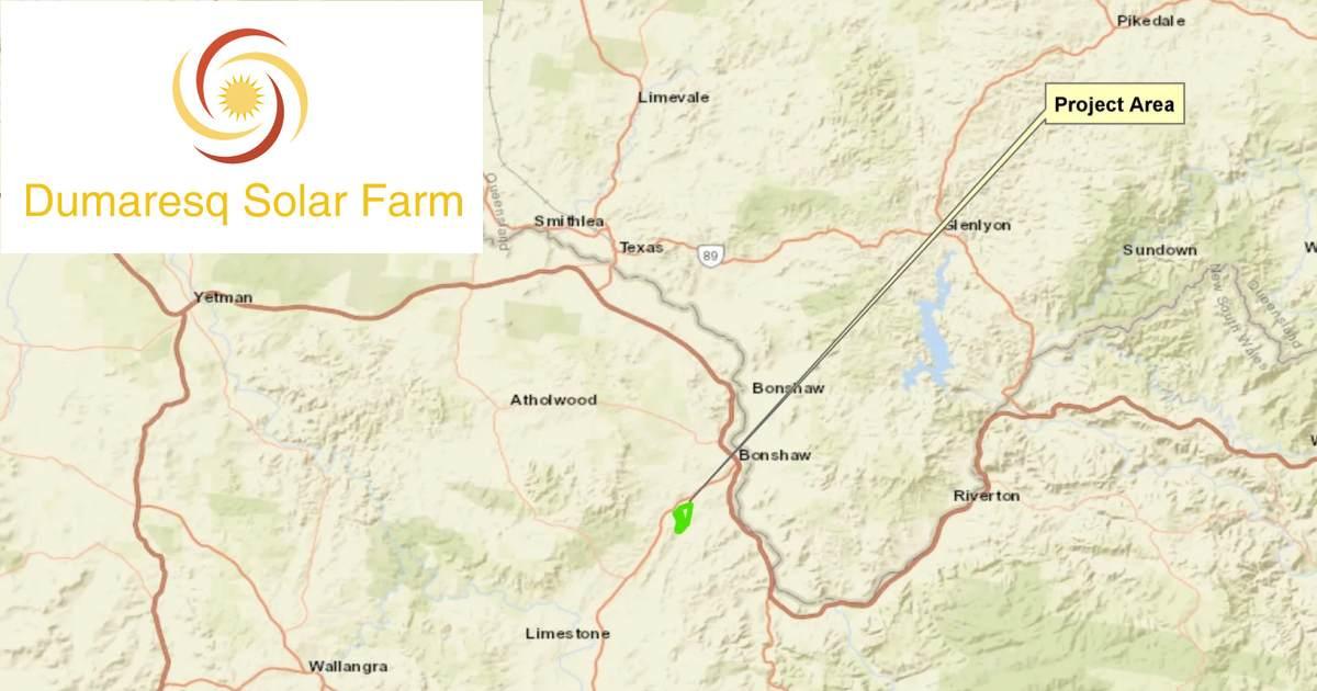Dumaresq Solar Farm