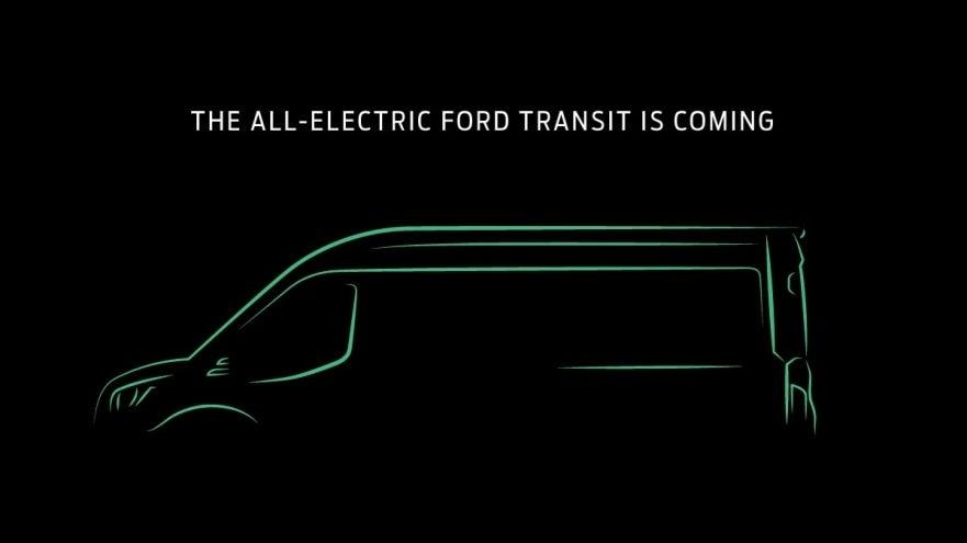 Ford Electric Transit Van