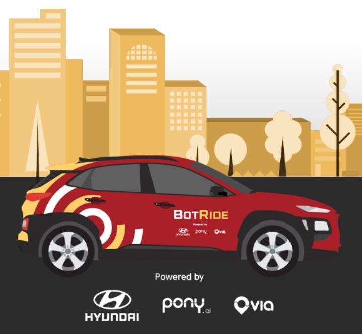 Hyundai autonomous ride sharing