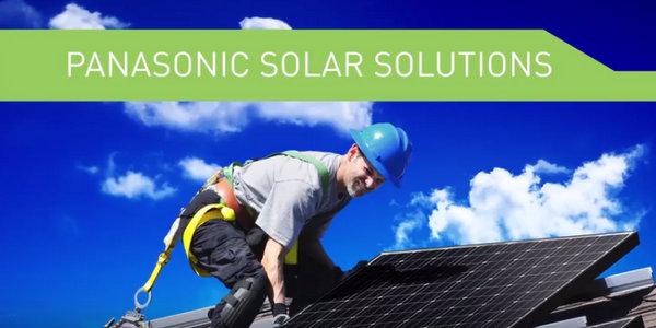 Panasonic solar solutions