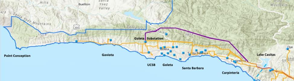 Goleta-map