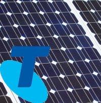 Telstra - solar and battery storage