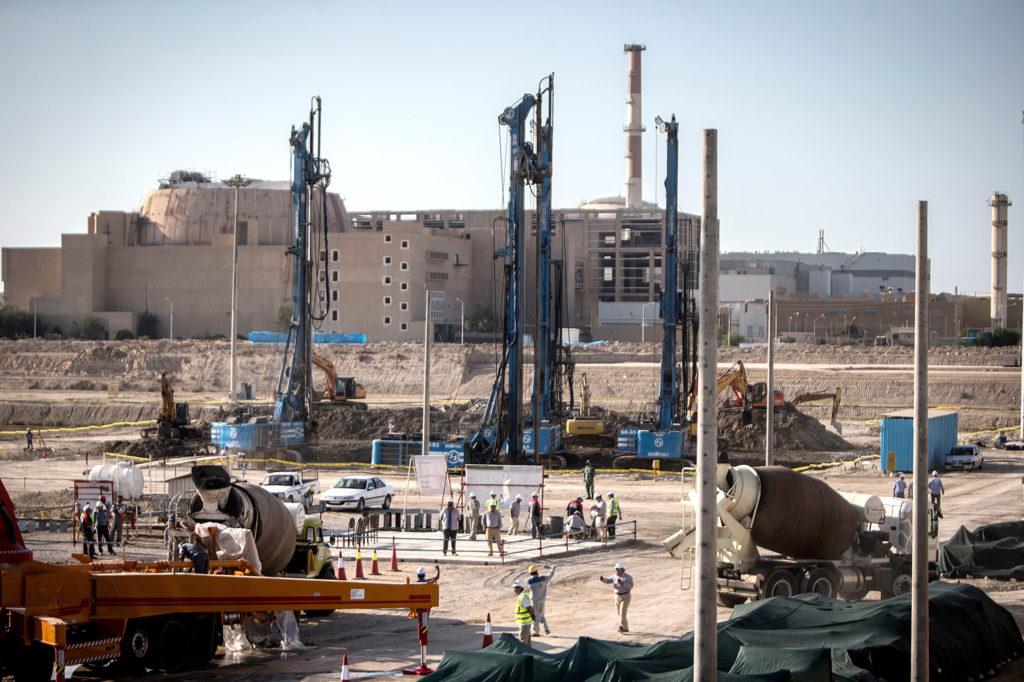 Construction site of the second phase of Iran's Bushehr Nuclear Power Plant in Bushehr, Tehran, 10 Nov 2019. Credit: Ahmad Halabisaz/Xinhua/Alamy Live News. 2A8TR1W