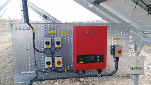 GoodWe Solar Inverter at Loom Solar