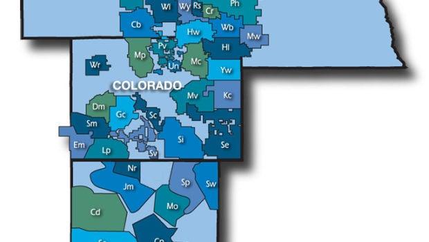 Tri State member map
