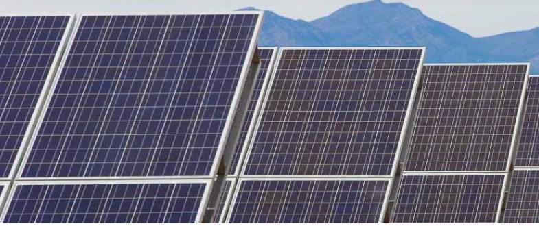 Tucson Electric Solar Power Plant